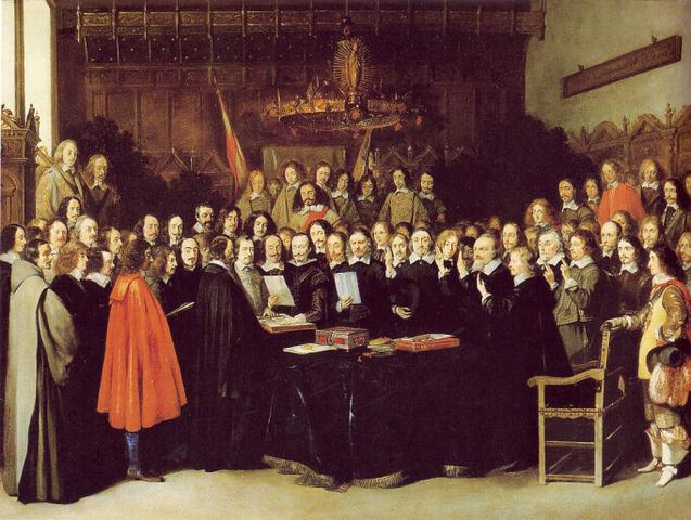 PAZ DE WESTFALIA 1648