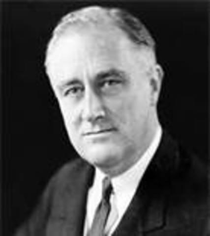 Franklin Roosevelt begins Manhattan Project