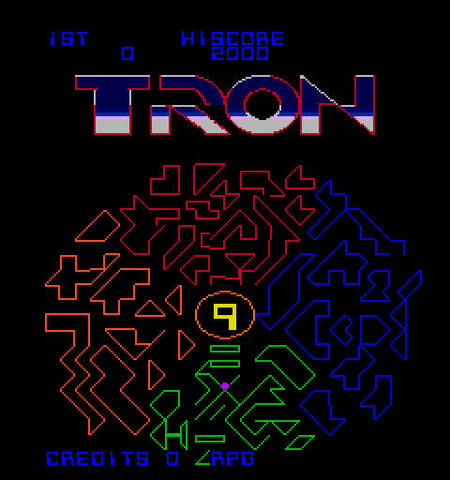 Tron - First Movie Game