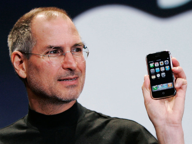 Steve Jobs creates the first iPhone.