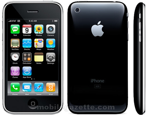 The iPhone3G was released