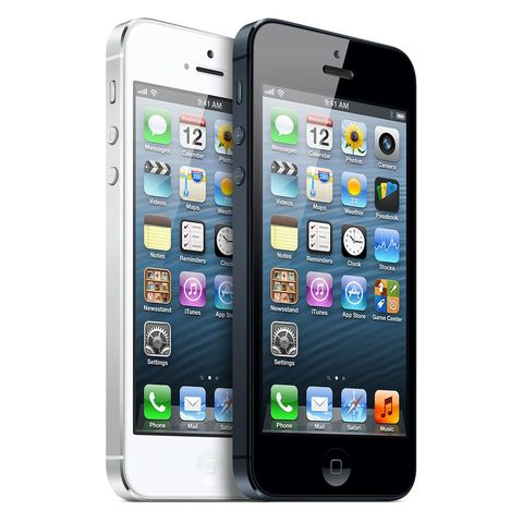 The iPhone 5 was released