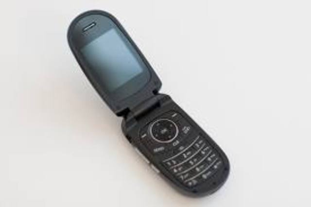 old flip cell phone