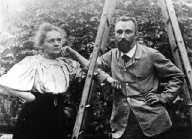 Marie and Piere Curie