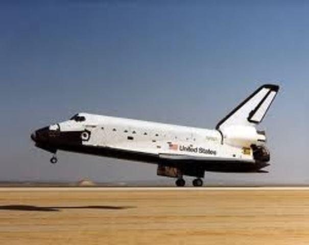Discovery's First Flight 發現號第一次去太空
