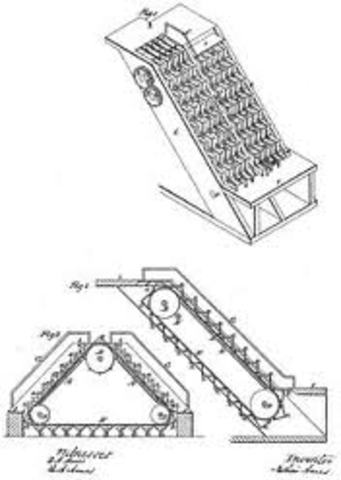 George A. Wheeler of New York, New York patents Elevator 479,864 issued August 2