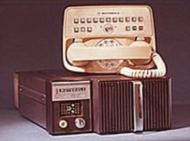 Motoral invented the first ever portable carphone in the US.
