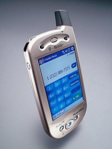 first pda phone.