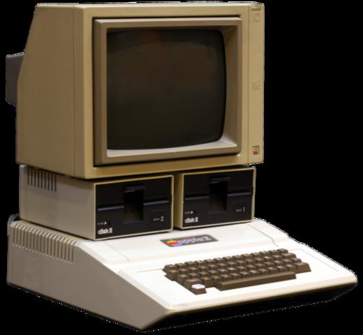 The Original Apple II Computer