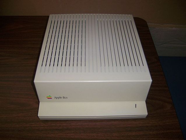 The Apple IIGS is discontinued