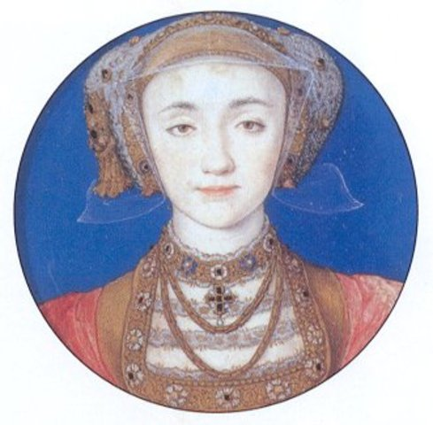 Anne of Cleves marries Henry VIII