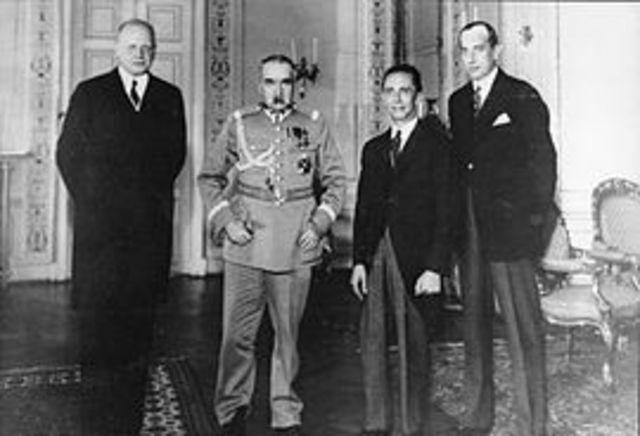 Germanor Nazi-Soviet Non-Agreement Pact =  August 23, 1939