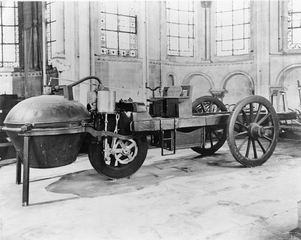 First powered road vehicle