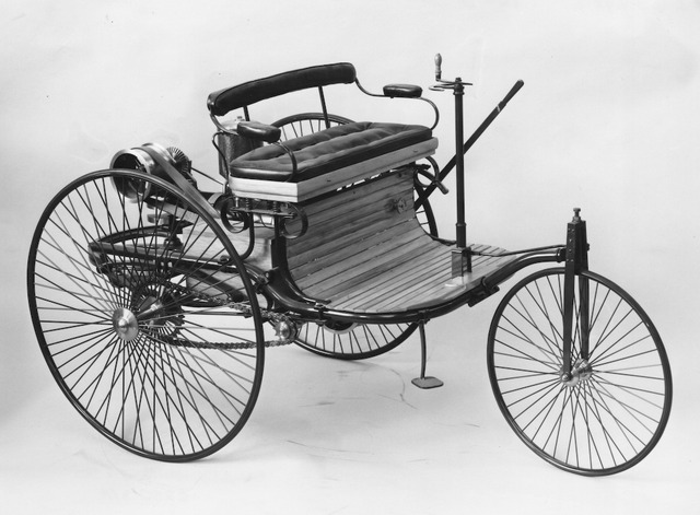 Invention of the motor car