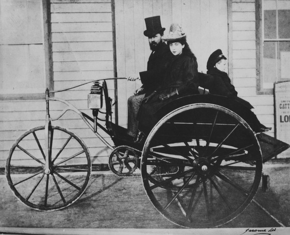 First practical electrical car
