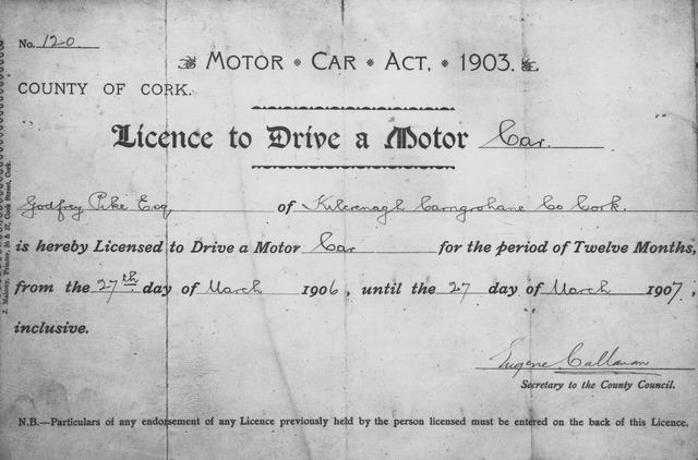 Motor Car Act