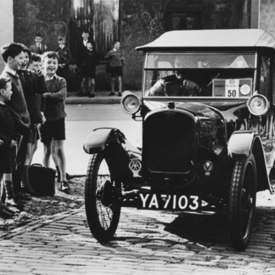 The rise of the motor vehicle  timeline