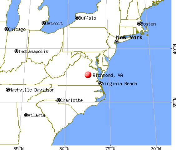 Richmond, Virginia Becomes new CSA Capital