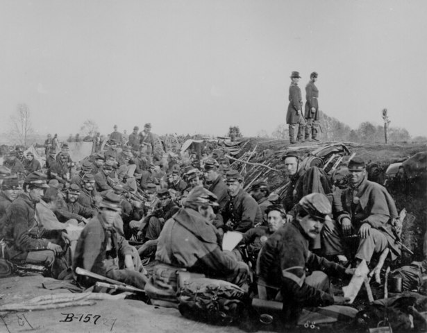 Abraham Lincoln Calls For Troops.