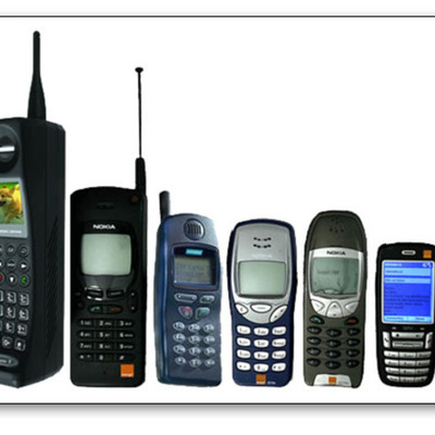 cell phone timeline