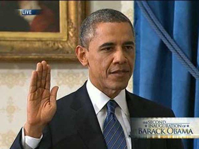 President Sworn In