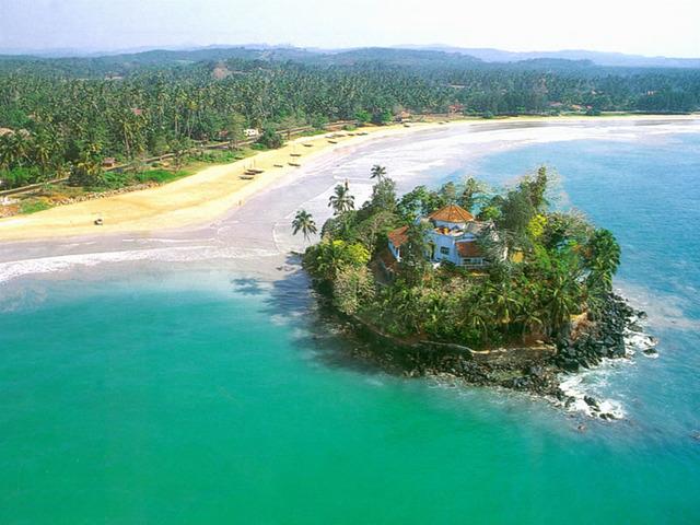Buy a big house on an island