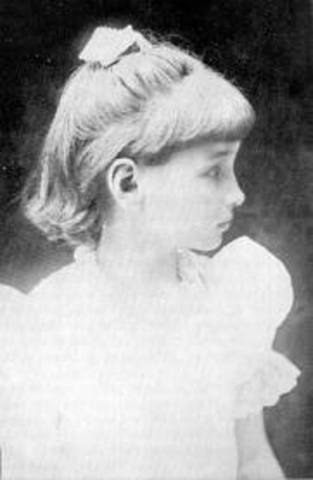 Helen Adam Keller is born