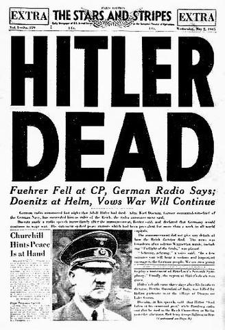 II GM-suicidio de Hitler