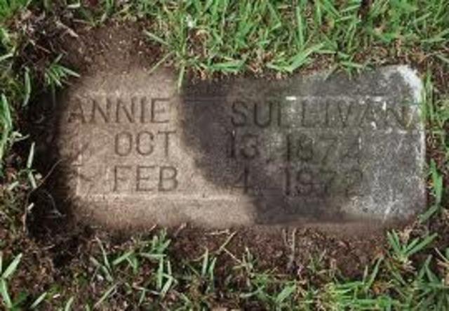 Annie Macy Sullivan dies