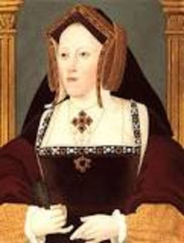 King Henry marries Catherine of Argon