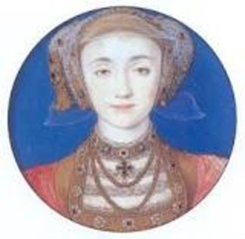 Anne of Cleves is crowned Queen