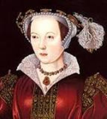 Katherine Parr becomes the last Queen