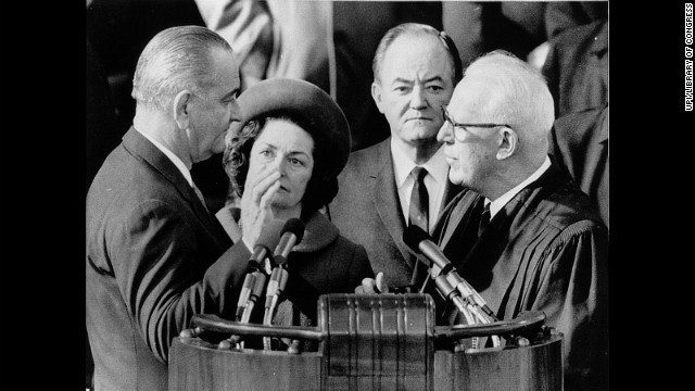 President Johnson is re-elected