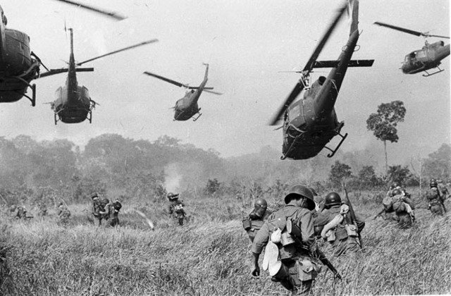 First United States ground troops go to Vietnam