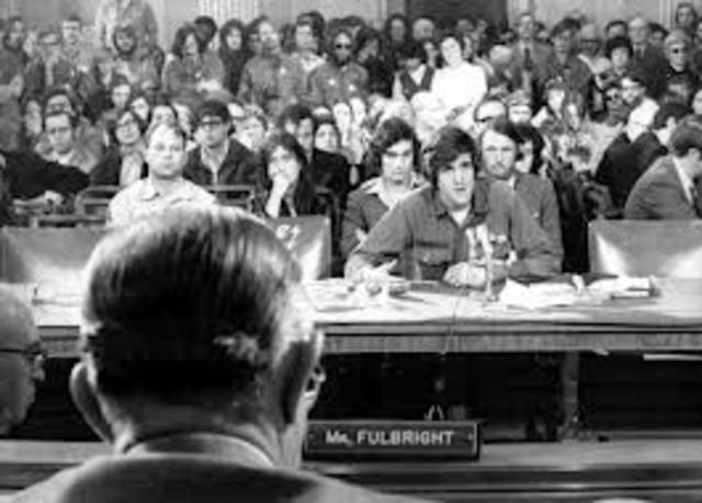 Senate Hearings on War
