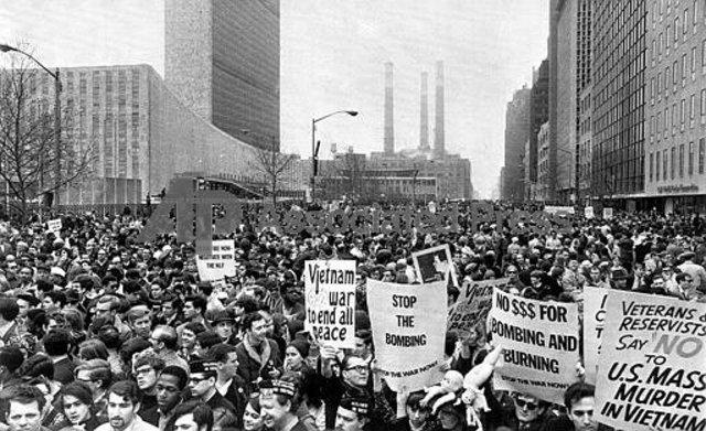 Demonstration in New York City