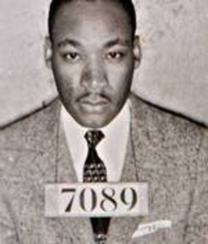 Martin Luther King Arrested