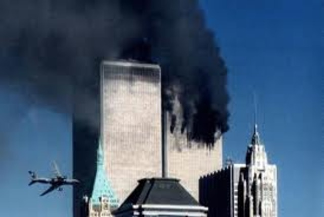 Falling of the Twin Towers