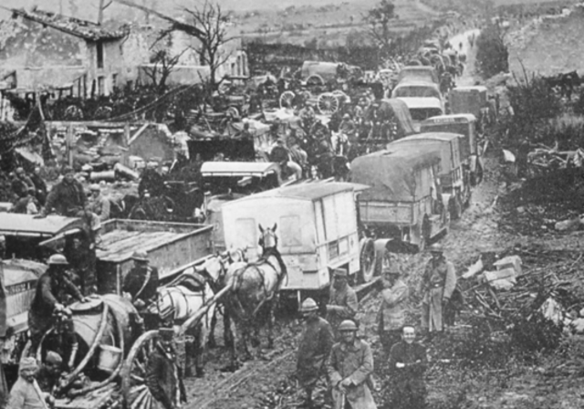 World War 1 begun
