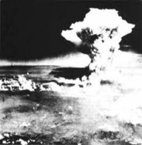 The Bombing of Heroshima Ended the war in the pacific