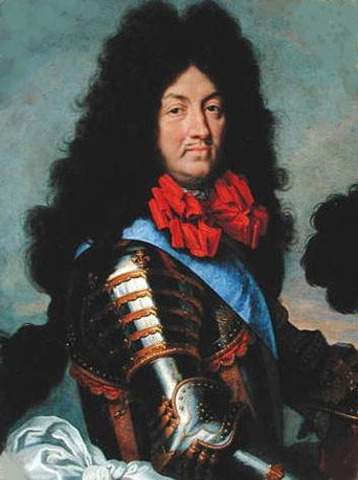 King Louis the XIV was the French Leader.