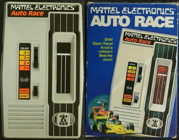 Mattel Auto Race - First Handheld Game
