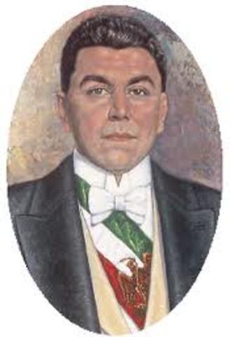 Huerta como presidente