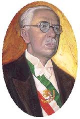 Pascual Ortiz Rubio resulto ser electo como presidente