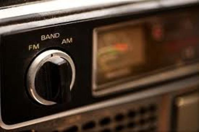 amplitude-modulate radio
