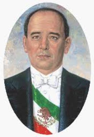 Abelardo Rodríguez como presidente