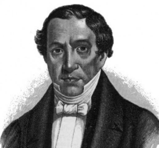 José María Bocanegra 1829