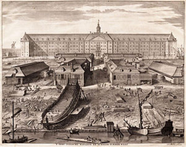 Dutch East India Company is founded