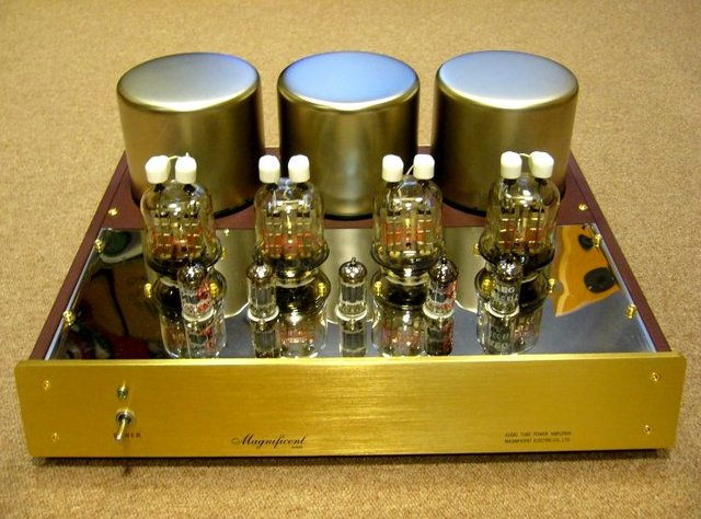Devopment of Vacuum Tube Amplifier