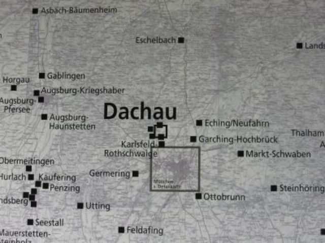 The first concentration camp was established in Dachau, Germany for political opponents.